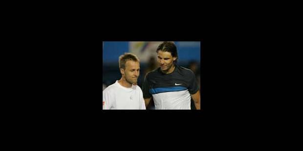 ATP Barcelone - Ch. Rochus battu par Nadal en 8e - La Libre