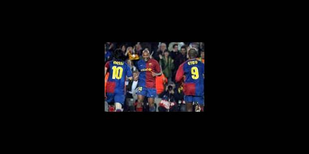 Le Barça tenu en échec - La Libre