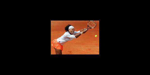 Serena Williams abandonne, blessée à un genou - La Libre