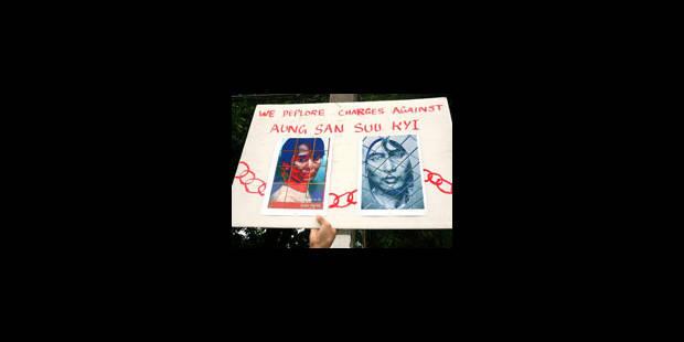 Aung San Suu Kyi, procès à huis clos - La Libre
