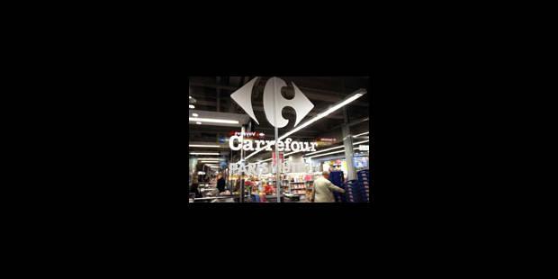 Le Setca invoque le droit de grève devant les Carrefour - La Libre