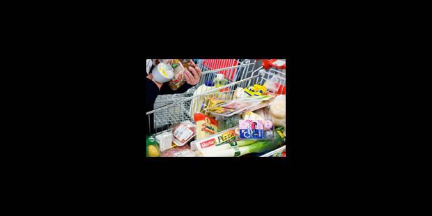 Baisse de 1,51 pc du panier de la ménagère depuis août 2008 - La Libre