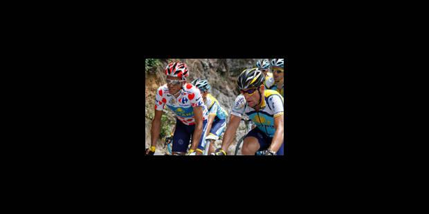 Armstrong peut-il attaquer Contador? (live dès 14h30) - La Libre