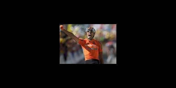 Mikel Astarloza remporte la 16e étape du Tour - La Libre