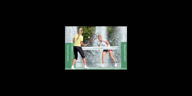 Clijsters et Dementieva jouent sur l'eau - La Libre