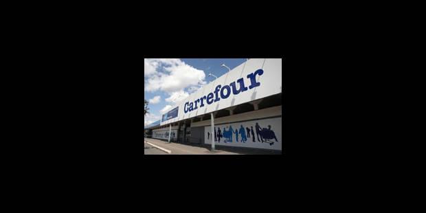 Carrefour dans le rouge au 1er semestre - La Libre