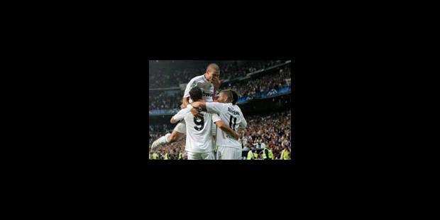 Carton du Real Madrid face à Marseille - La Libre