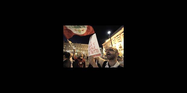 Italie : Colère et tremblements au palais - La Libre
