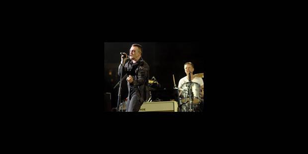 U2 au stade Roi Baudouin le 22 septembre 2010 - La Libre