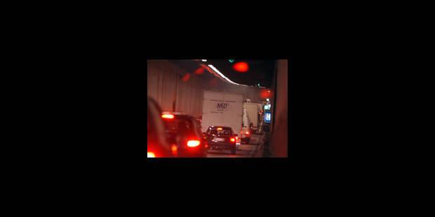Le tunnel Léopold II fermé à la circulation pour cause de travaux - La Libre