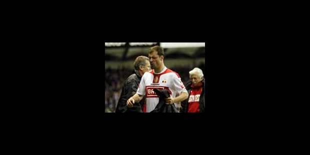 Jovanovic déclare forfait contre Arsenal - La Libre