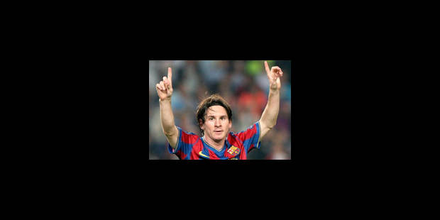 Ballon d'Or pour Lionel Messi - La Libre
