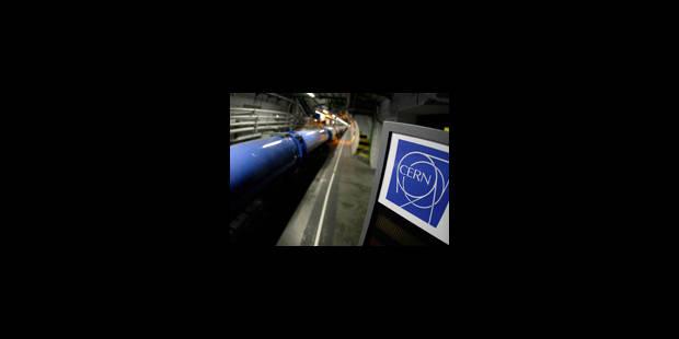 L'accélérateur de particules LHC mis en veille jusqu'en février - La Libre