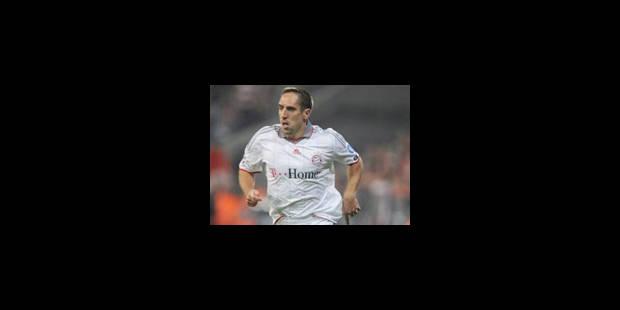 Ribéry ne renouvellera pas son contrat avec le Bayern - La Libre