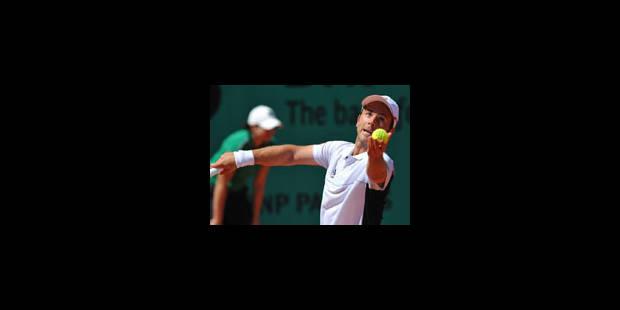 Roland-Garros : Olivier Rochus franchit le 1er tour - La Libre