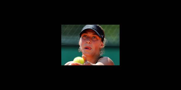 Yanina Wickmayer passe au mental - La Libre