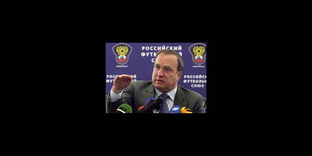 Accord entre l'Union belge et Dick Advocaat sur le montant du dédommagement - La Libre