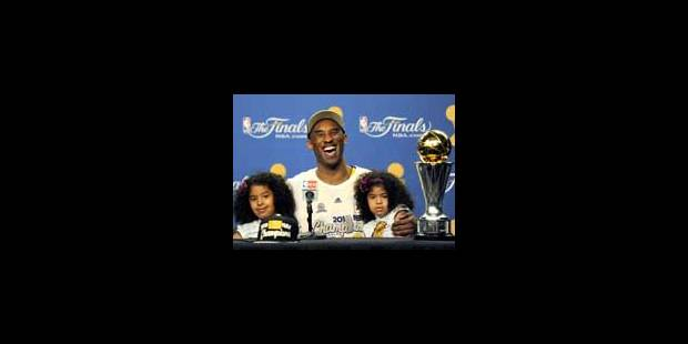 Les Lakers, double champions NBA - La Libre