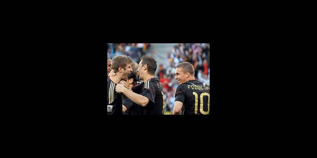 L'Allemagne mystifie l'Argentine et se pose en grande favorite ! - La Libre