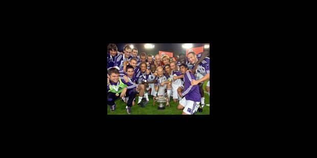 Anderlecht remporte la SuperCoupe 1-0 - La Libre