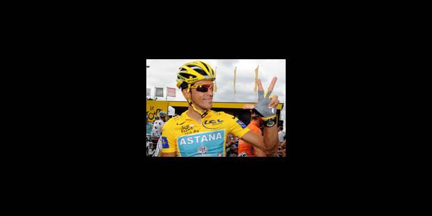 Contador quitte Astana - La Libre