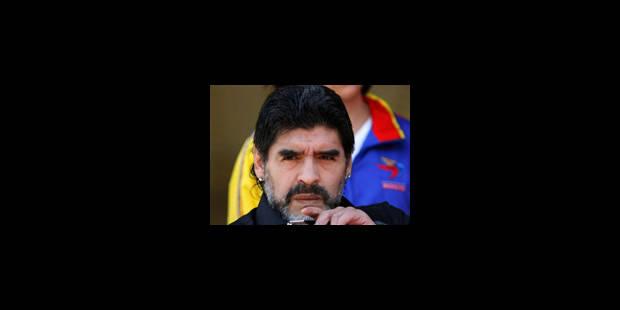 Diego Maradona n'est plus le sélectionneur de l'Argentine - La Libre