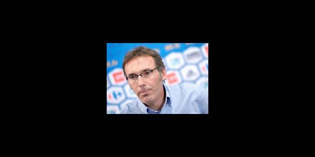 Laurent Blanc démissionnera s'il ne qualifie pas la France à l'Euro-2012 - La Libre