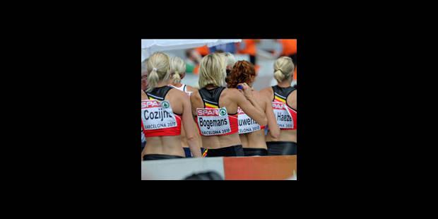 La Belgique éliminée en séries du 4x400 m féminin - La Libre