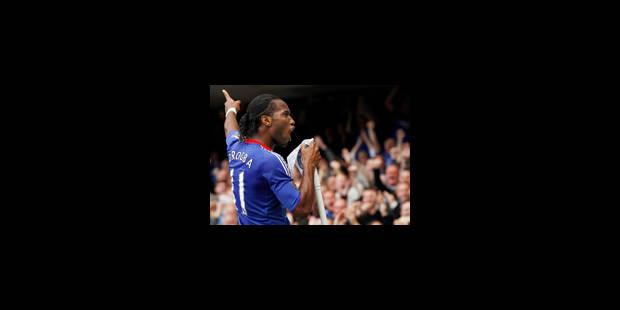 Drogba reçu 13 sur 13 - La Libre