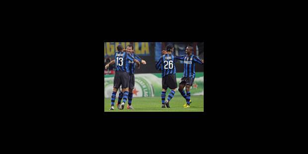 L'Inter se fait peur une minute face aux Spurs de Tottenham (4-3) - La Libre