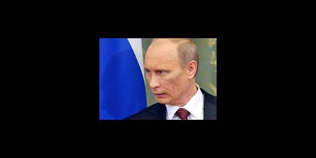 """WikiLeaks: Poutine est le """"mâle dominant"""", pour des diplomates US - La Libre"""