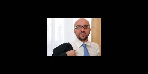 """Charles Michel: """"Assurer d'abord la cohésion"""" - La Libre"""