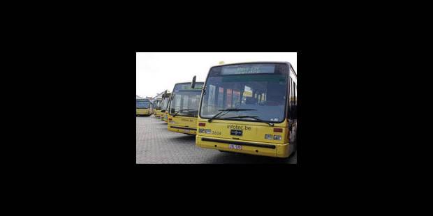 Les bus TEC rentrent au dépôt de Jemeppe - La Libre