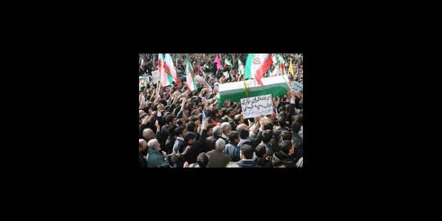 Iran: forte présence policière à Téhéran, tentatives de rassemblements - La Libre