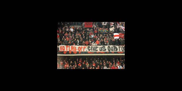 Indignation unanime des supporters - La Libre