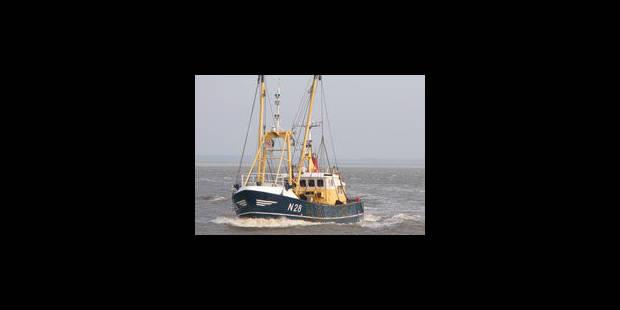 """Les trois pêcheurs du """"Mooie Meid"""" piégés en mer - La Libre"""