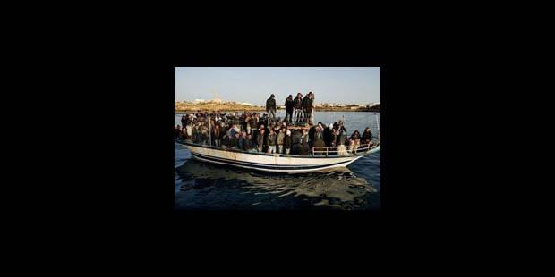 Plus de 1.600 immigrés ont débarqué à Lampedusa entre lundi et mardi - La Libre