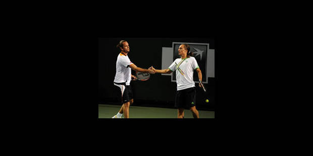 Xavier Malisse contre Roger Federer en finale du double messieurs à Indian Wells - La Libre