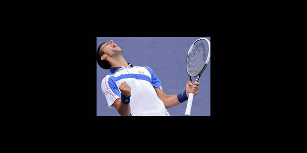 Djokovic domine Nadal en finale d'Indian Wells - La Libre