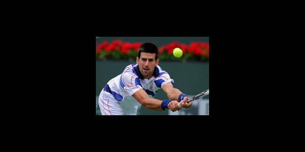 Novak Djokovic continue sa promenade de santé à Miami - La Libre
