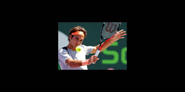 Federer rejoint Sampras au nombre de victoires en carrière - La Libre