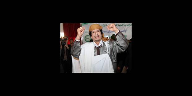 Kadhafi envoie un message à Barack Obama - La Libre