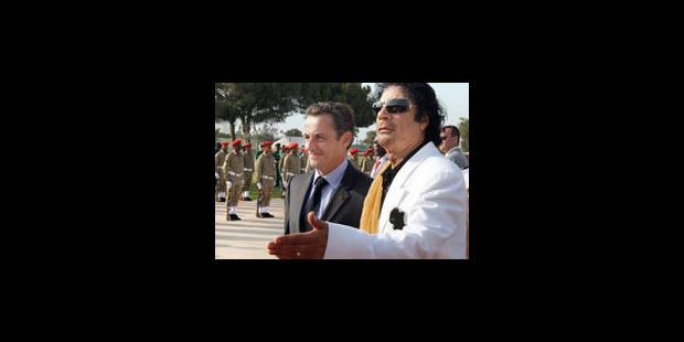 """La Libye n'a """"pas d'avenir avec Kadhafi"""" - La Libre"""