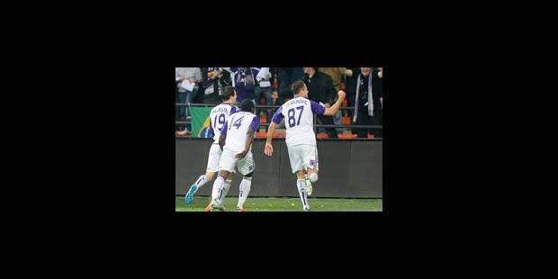 Anderlecht retrouve des couleurs et la tête des PO1 - La Libre