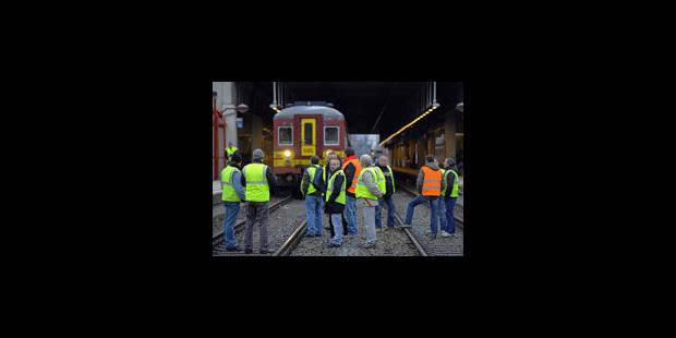 """Perturbations sur le rail: la SNCB parle """"d'actions illégales"""" - La Libre"""