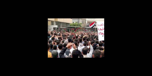 Syrie: au moins 42 morts après de nouvelles manifestations - La Libre