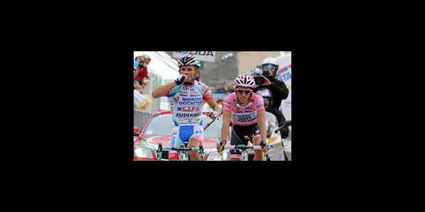 Giro : El Pistolero flingue la concurrence - La Libre