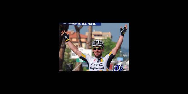 Mark Cavendish remporte la 12ème étape au sprint - La Libre