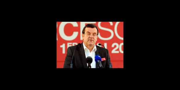 Willy Demeyer réélu à la présidence de la Fédération liégeoise du PS - La Libre