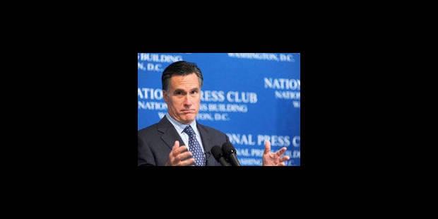 Le républicain Mitt Romney se lance pour affronter Barack Obama en 2012 - La Libre
